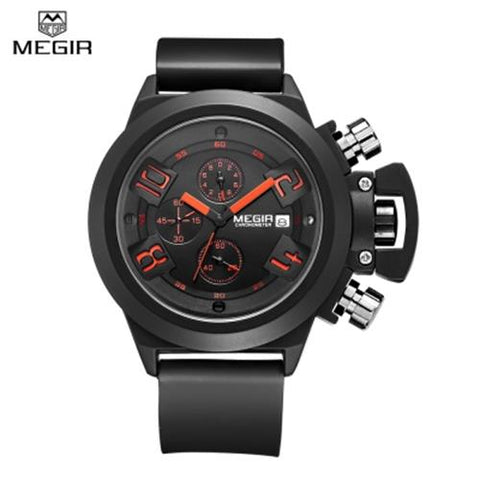 MEN04-MEGIR01 WATER RESISTANT BLACK