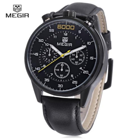 MEN04-MEGIR02 WATER RESISTANT BLACK