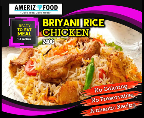 R002 - BRIYANI RICE CHICKEN