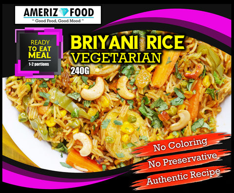 R004 - BRIYANI RICE VEGETARIAN