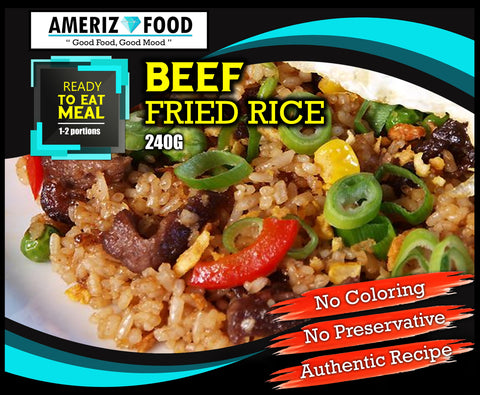 R013 - BEEF FRIED RICE