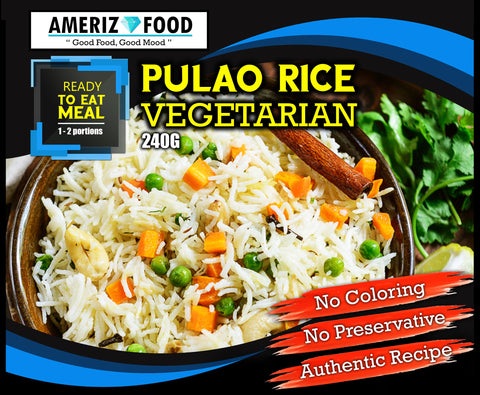 R033 - PULAO RICE VEGETARIAN