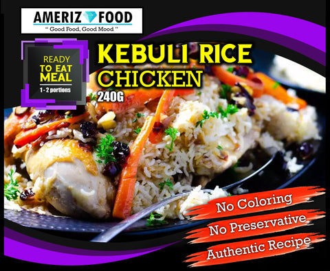 R042 - KEBULI RICE CHICKEN