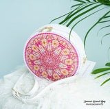 Summer Round Bag with sling