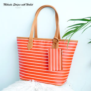 Mikaela Classic Stripes with Wallet