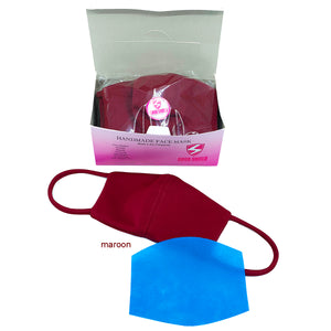 Face Mask Classic Premium Neoprene Material with Free filter Box of 10s