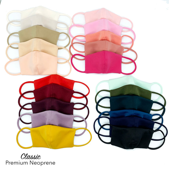 Face Mask Classic Premium Neoprene (sold per piece)