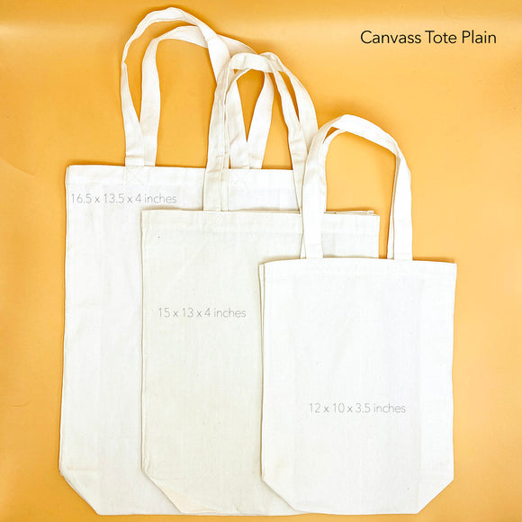 Canvass Tote Plain
