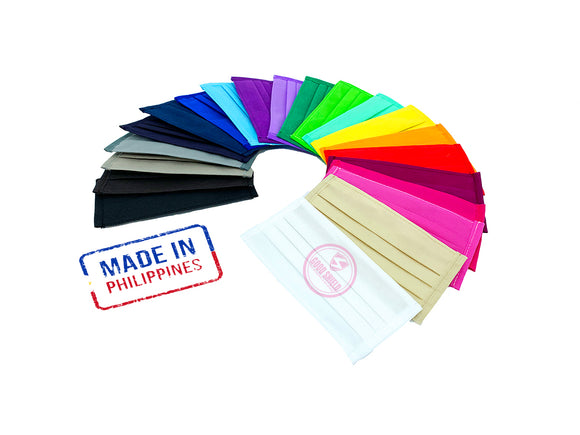 Face Mask Non Woven Material Handmade (sold per piece)