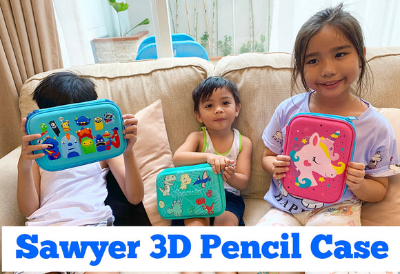 Sawyer 3D Pencil Case