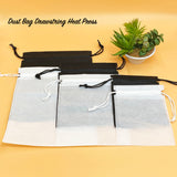Dust Bag Drawstring Heat Press