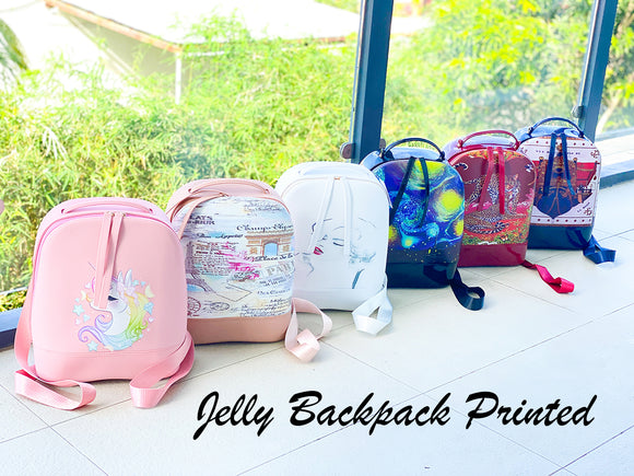 Jelly Backpack 32cm Printed