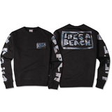 LAB PETRO CREW DROP BLACK CREW