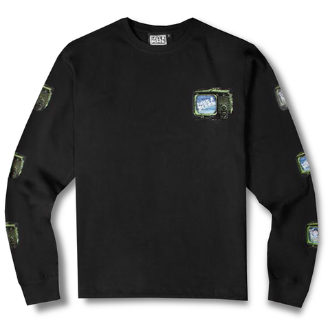 LAB STACK LONG SLEEVE TEE