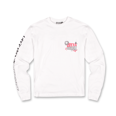 LAB WHITE GENERATION LS TEE