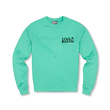 LAB AQUA STRIP LOGO LS TEE
