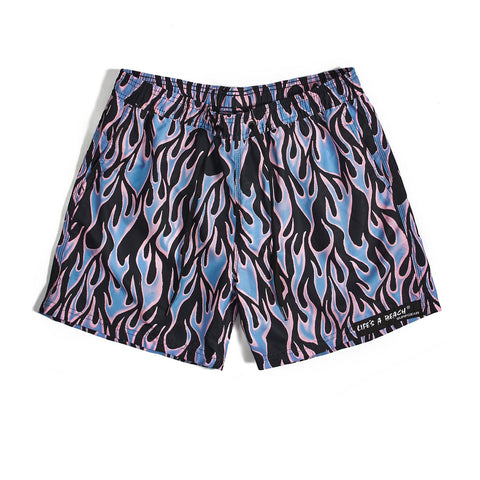 Blue Flame Swim Shorts