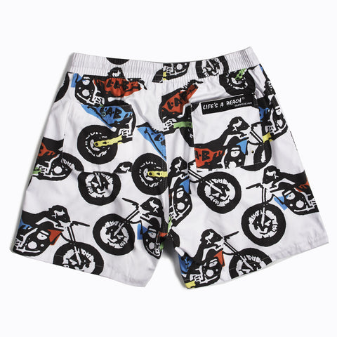 Colour Dirt Bike Shorts