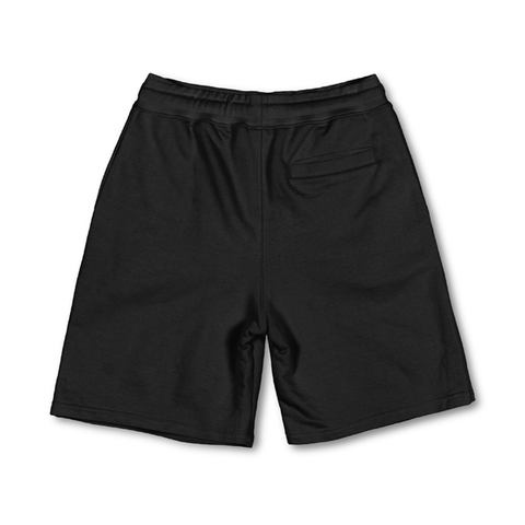 LAB BLACK FAT LOGO SHORTS