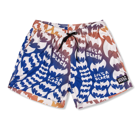 LAB ORANGE PYSCHE OUT G-DYE SHORTS