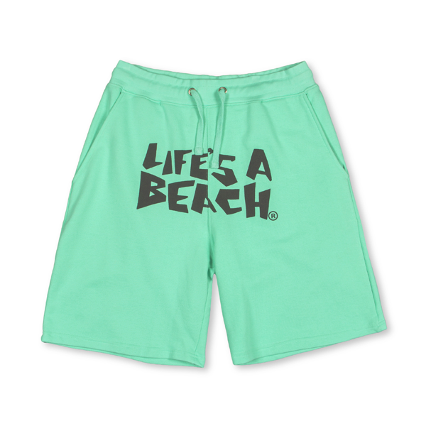 LAB AQUA FAT LOGO SHORTS