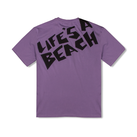 LAB PURPLE LOGO TEE
