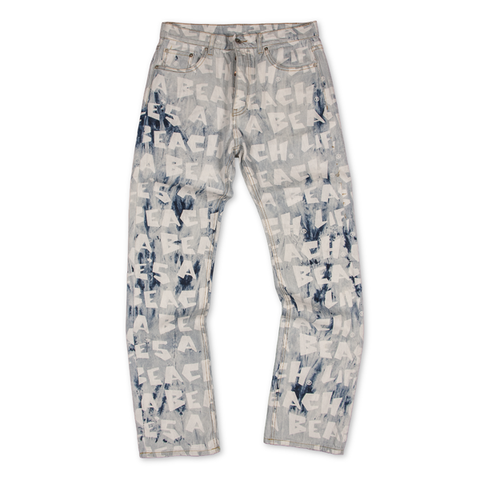 LAB SUPER BLEACH OUT REPEAT JEANS
