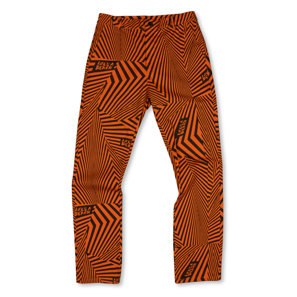 LAB PSYCHE ORANGE G DYE PSYCHE OUT TROUSERS