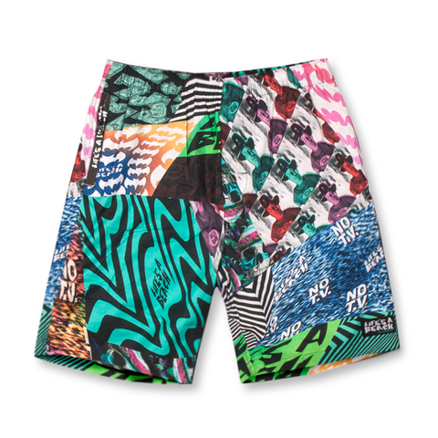 LAB MISH MASH COTTON SHORTS