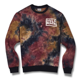life's a beach, aw19 collection, surfgear, skategear,  , CREW NECK, TIE DYE