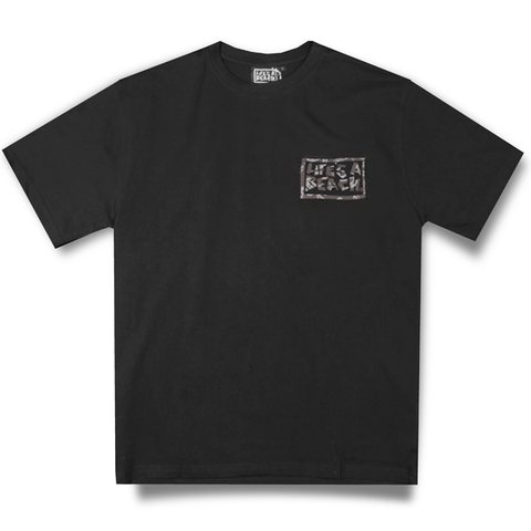 LAB SNAKE BOX BLACK TEE