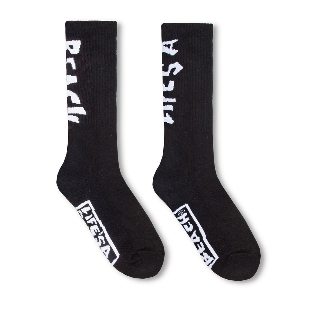LAB LOGO SOCKS BLACK