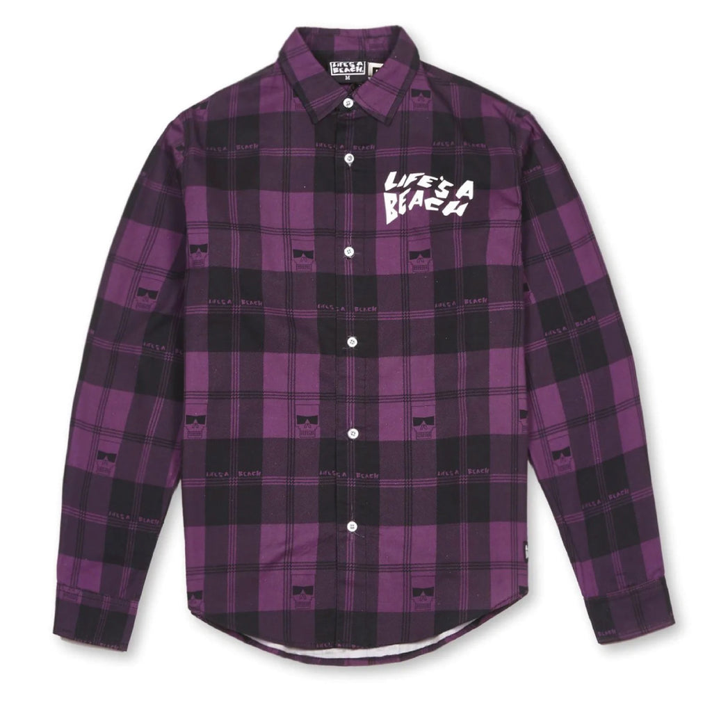 LAB MAX HEAD SHIRT PURPLE