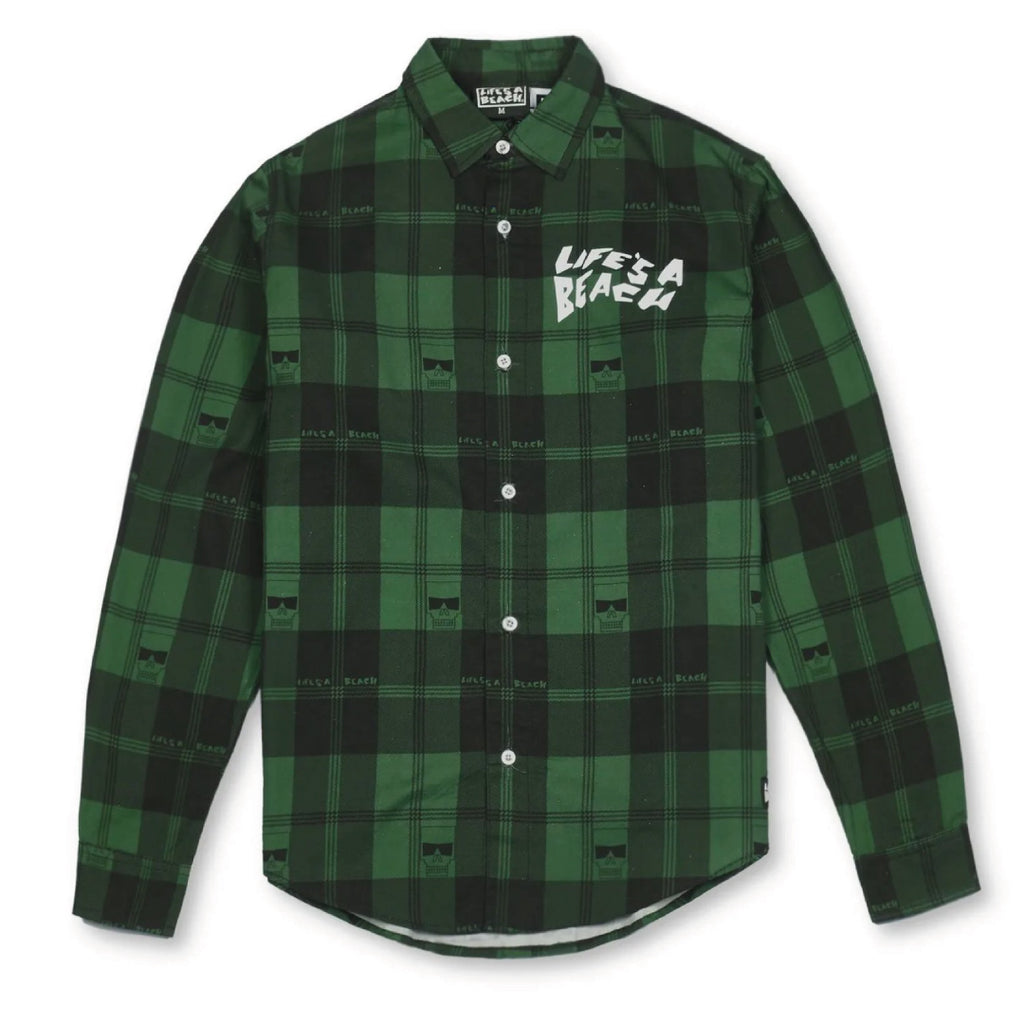 LAB MAX HEAD SHIRT GREEN
