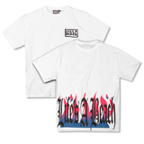 LAB FLAMES WHITE TEE