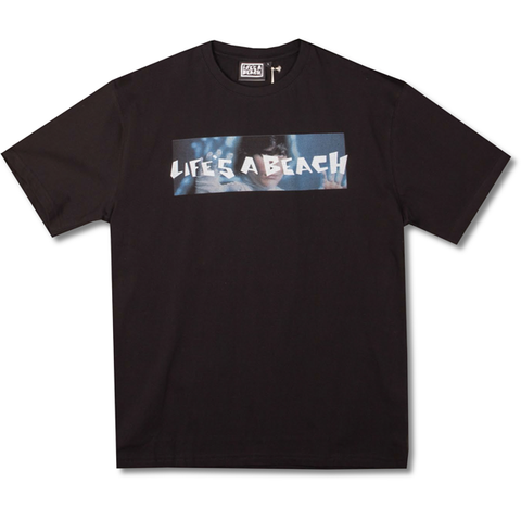 LAB WIERD ONE BLACK TEE