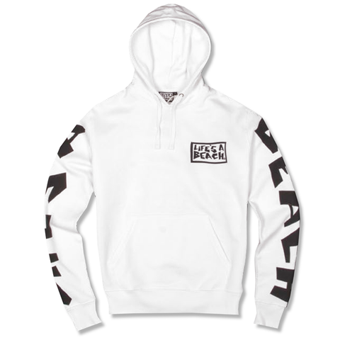 LAB ALL SLEEVE WHITE HOOD