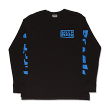 Load image into Gallery viewer, ALL SLEEVE L/S T-SHIRT BLACK