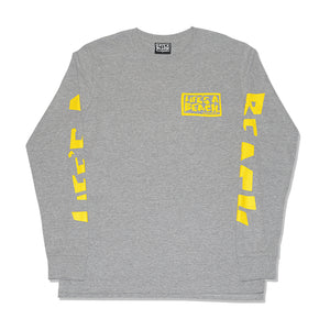 ALL SLEEVE L/S T-SHIRT GREY MARL