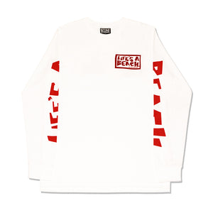 ALL SLEEVE L/S T-SHIRT WHITE