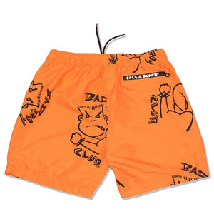 BAD BOY CLUB BALLOVER SWIMSHORT ORANGE