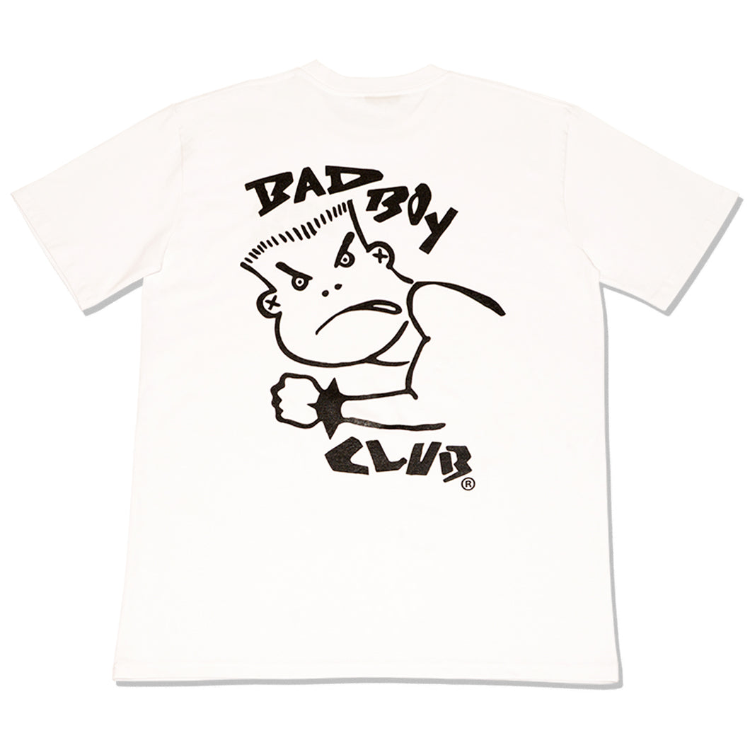 BAD BOY CLUB T-SHIRT WHITE