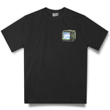 LAB STACK BLACK TEE