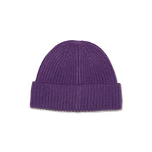 Load image into Gallery viewer, LAB BAD BOY CLUB CUFFED BEANIE PURPLE