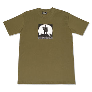 PEACE MAN T-SHIRT OLIVE