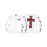 LAB RATS LONG SLEEVE WHITE TEE