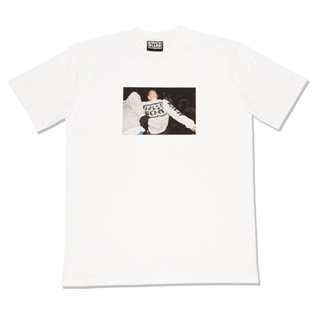 TEE ON A TEE T-SHIRT WHITE