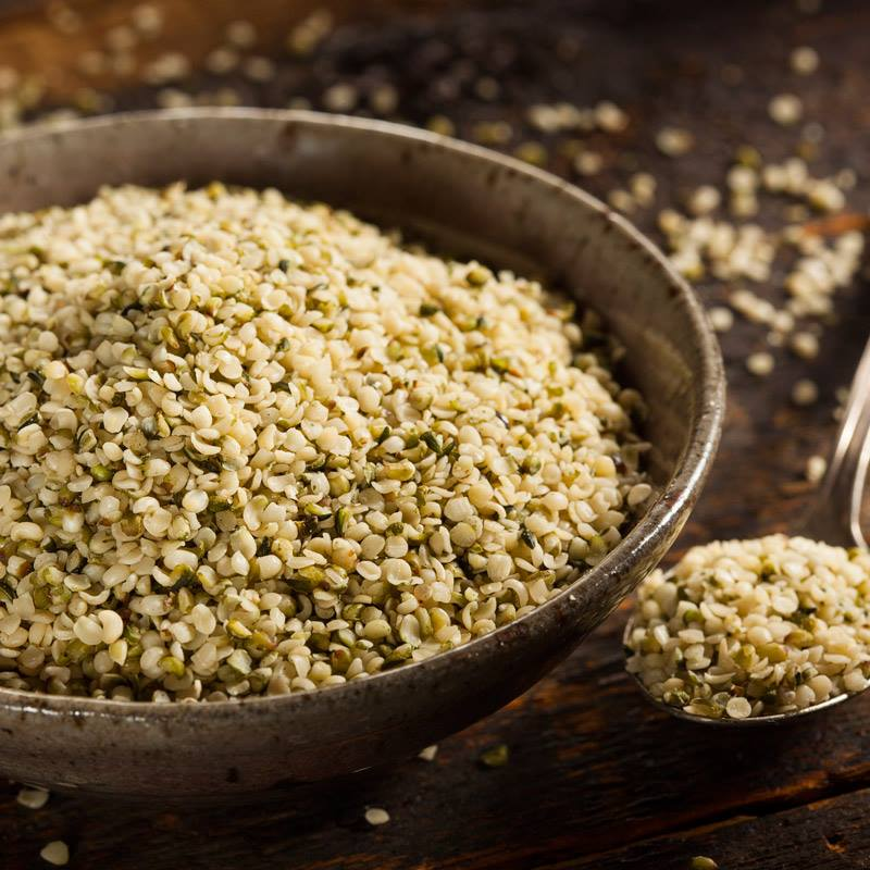 Hemp seeds for cheese