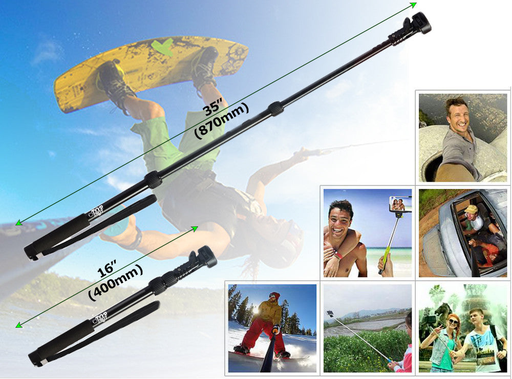 Waterproof Bluetooth Selfie Stick