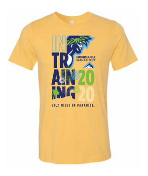 2020 Honolulu Marathon Training Shirt